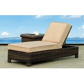 South Sea Rattan Patio Chaise Lounges