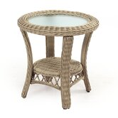 South Sea Rattan End Tables