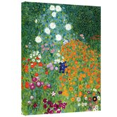 """Farm Garden"" by Gustav Klimt Painting Print on Wrapped Canvas"
