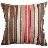 Janeah Stripes Cotton Throw Pillow