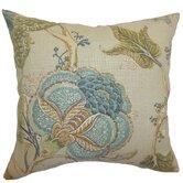 Ymanya Floral Linen Throw Pillow
