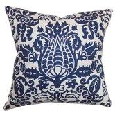 Dolbeau Floral Cotton Throw Pillow