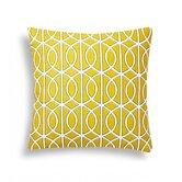 Lattice Decorative Cotton Throw Pillow