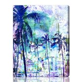 Canyon Gallery Purple Miami Graphic Art on Wrapped Canvas