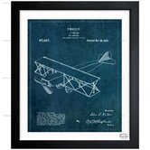 Oliver Gal Toy Airplane 1921 Framed Graphic Art