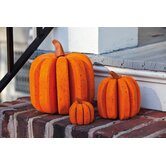 Bloomwood Meadows Pumpkin Statue Thanksgiving Decoration