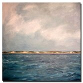 "Dunes of Lake Michigan with Big Sky by Michelle Calkins, Canvas Art - 24"" x 24"""