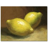 'Lemons' Painting Print on Canvas