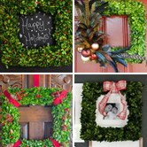 10 DIY Holiday Wreath Ideas