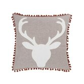 Oh Deer Wool Linen Pillow