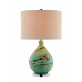 """Mazetti 25.5"""" H Table Lamp with Drum Shade"""