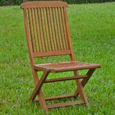 International Caravan Patio Dining Chairs