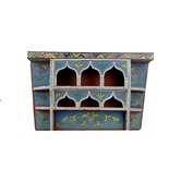 Moroccan Vintage Wood Shelf