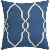 Juxtaposed Geometric Wool Throw Pillow