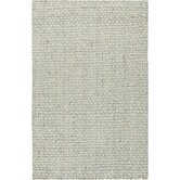 Jute Woven Oyster Gray Area Rug