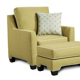 Lecce Arm Chair and Ottoman