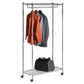 Wayfair Basics Chrome Garment Rack