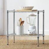Wayfair Basics 2 Tier Utility Shelf