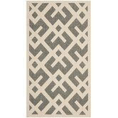 Courtyard Grey & Bone Indoor/Outdoor Area Rug