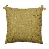 Tuscan Garden Cotton Ribbon Pillow