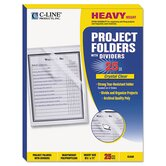 C-Line Products, Inc. File Jackets, Sleeves, Walle