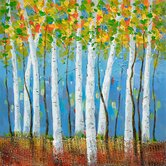 """Birch Bliss II Wall Art - 31"""" x 31"""""""