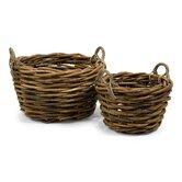 Capuchin Round Oversized Rattan Basket