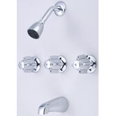 Central Brass Shower Faucets