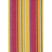 Woven Cotton Mums Striped Rug