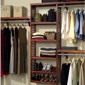 "12"" Deep Premier Closet Organizer Set"