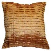 Silky Pleated Throw Pillow