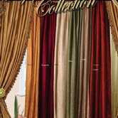 Violet Linen Curtains and Valances