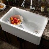 """London 24"""" x 18"""" Single Bowl Farm Kitchen Sink"""