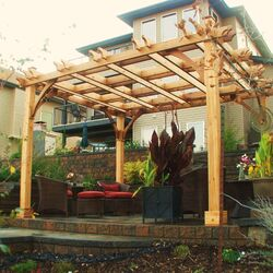 Breeze 12 Ft. W x 12 Ft. D Cedar Pergola