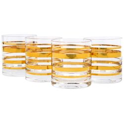 Posh Gold Bangle DOF Set