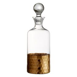 Daphne Gold 20 Oz. Wine Decanter