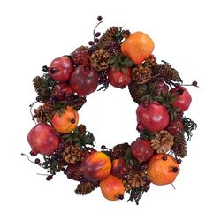 Pomegranates Wreath