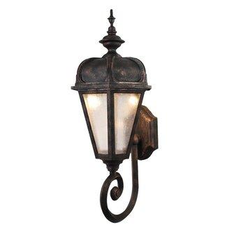 Melissa Kiss Series 1 Light Outdoor Wall Lantern Wayfair Supply