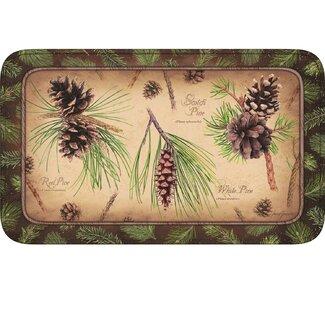 Pine Cones Doormat