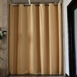 roomdividersnow tension rod room divider kits wayfair supply. Black Bedroom Furniture Sets. Home Design Ideas