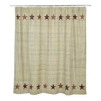 Abilene Star Cotton Shower Curtain
