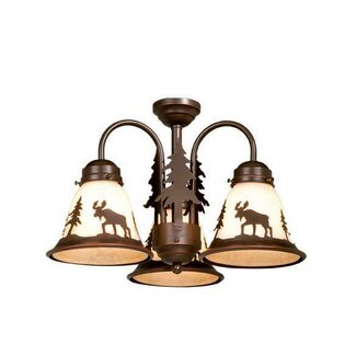 Click to buy Yellowstone 3 Light Flush Mount from Wayfair!