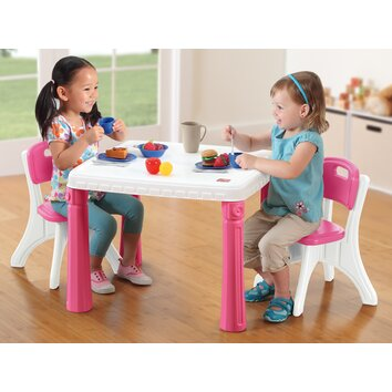 Step2 lifestyle kitchen kids table and chair set stp1449
