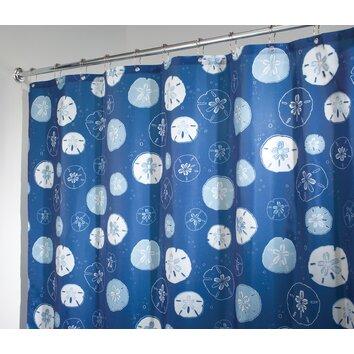 Interdesign Sand Dollar Shower Curtain Amp Reviews Wayfair