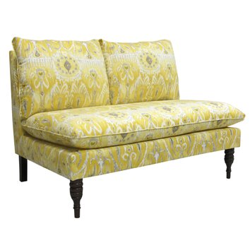 Skyline Furniture Alessandra Settee Loveseat Reviews Wayfair Supply