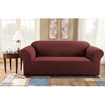 sure fit simple stretch subway sofa slipcover reviews. Black Bedroom Furniture Sets. Home Design Ideas