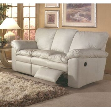 Omnia Furniture El Dorado Leather Sleeper Sofa Living Room