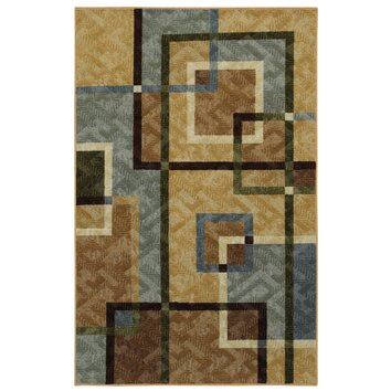 bathroom sinks faucets mohawk home connexus overlapping squares area rug 11478