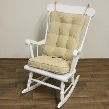 greendale home fashions jumbo rocking chair cushion 2