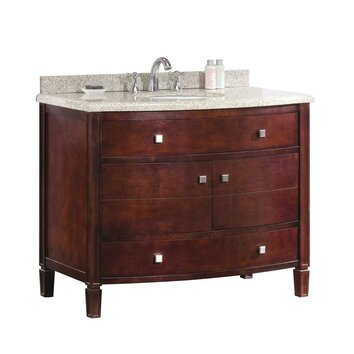 Ove decors georgia 42 single bathroom vanity set reviews wayfair for 42 inch bathroom vanity home depot